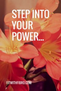 Step into your power...